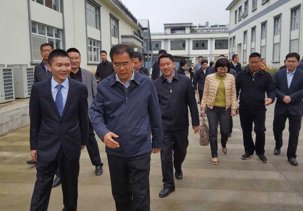 东莞市政府代表团一行考察好医生云福中药