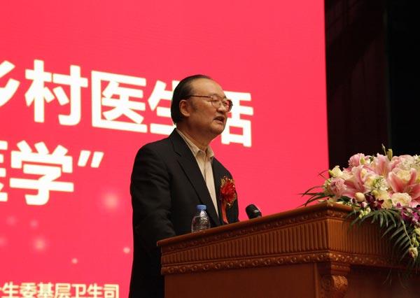中国医师协会乡村医生分会会长蔡忠军