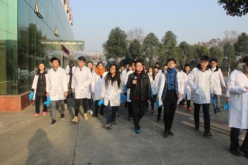 西南科技大学师生学习参观好医生绵阳生产基地
