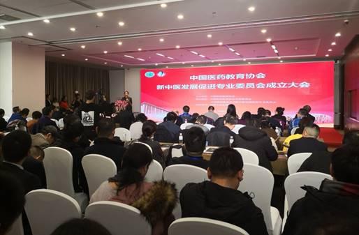 中国医药教育协会新中医发展促进专业委员会在京成立