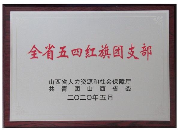 """山西好医生团支部 荣获""""全省五四红旗团支部""""称号"""