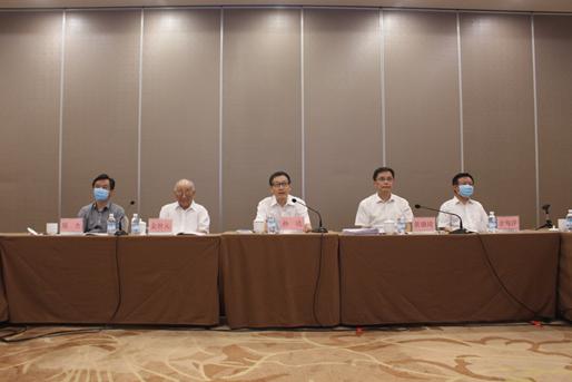 耿福能董事长参加中医药法实施三周年专家视频交流会