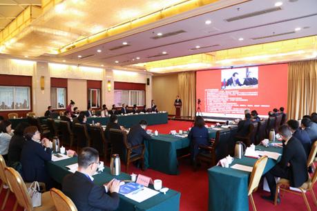 中国中药协会四届四次常务理事会暨2021年度会长会在西昌召开