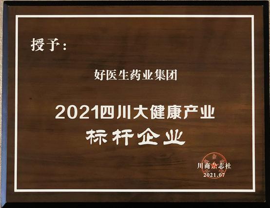 2021四川大健康产业标杆企业榜单揭晓 好医生荣誉上榜